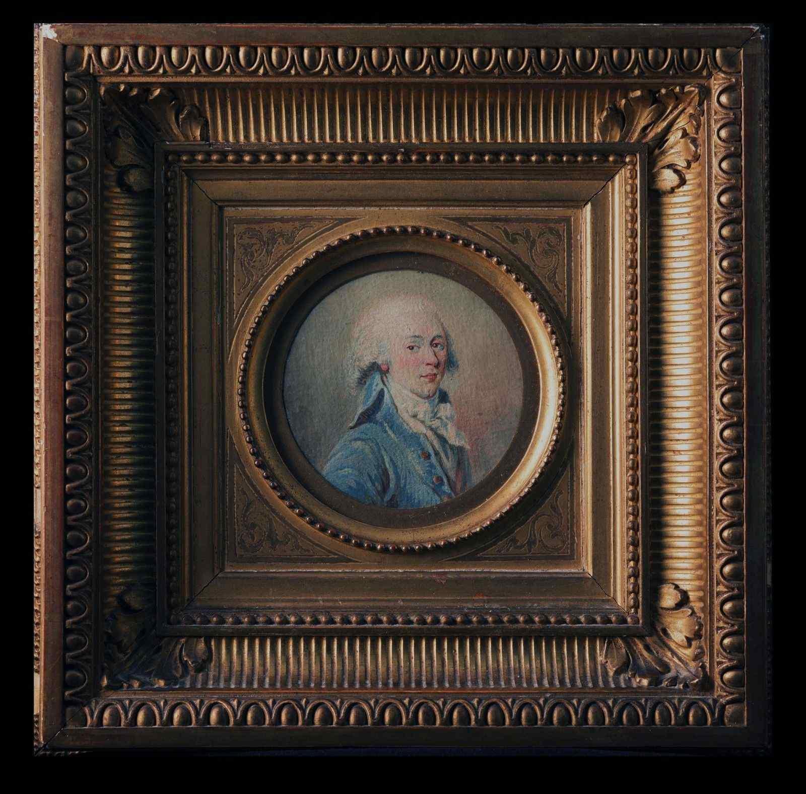 Клод Жан Батист  Уан, Портрет джентльмена, 1780-90