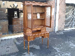 Antique Louis Philippe Desk Bookcase Bureau in walnut - 19th-6