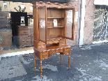Antique Louis Philippe Desk Bookcase Bureau in walnut - 19th-6