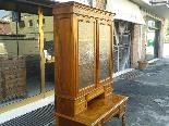 Antique Louis Philippe Desk Bookcase Bureau in walnut - 19th-11