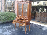 Antique Louis Philippe Desk Bookcase Bureau in walnut - 19th-5