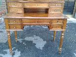 Antique Louis Philippe Desk Bookcase Bureau in walnut - 19th-14