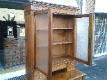 Antique Louis Philippe Desk Bookcase Bureau in walnut - 19th-10