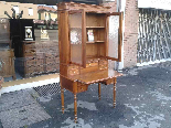 Antique Louis Philippe Desk Bookcase Bureau in walnut - 19th-7