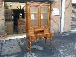 Antique Louis Philippe Desk Bookcase Bureau in walnut - 19th-1
