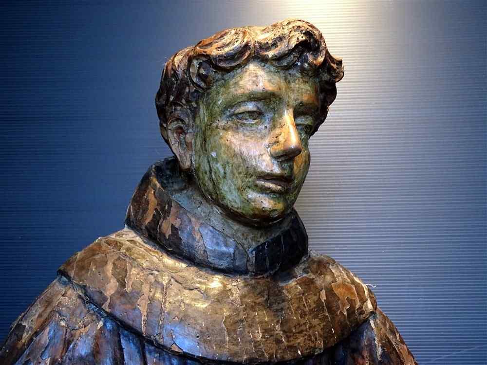 «Очень приятно Статуя 17 Young Saint Итальянская школа»