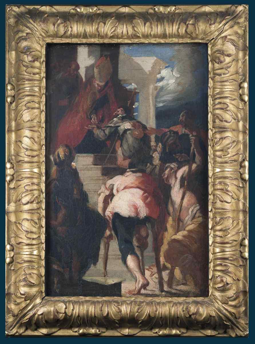 Maffei, St. Thomas of Villanova distributing alms
