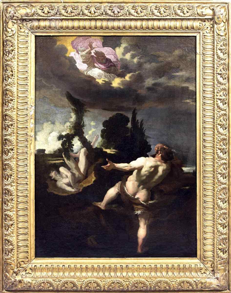 Johann Liss (Attrib.), The Cursing of Cain