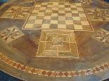 Ancien Table Louis Philippe noyer marqueterie - Italie 19ème-8