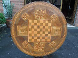 Antique Louis Philippe Table in walnut inlaid - Italy 19th-6