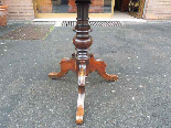 Antique Louis Philippe Table in walnut inlaid - Italy 19th-10