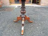 Ancien Table Louis Philippe noyer marqueterie - Italie 19ème-10