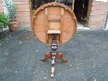 Ancien Table Louis Philippe noyer marqueterie - Italie 19ème-12