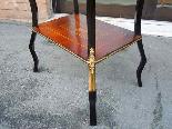 Antico Tavolino Napoleone III intarsiato - XIX secolo-12