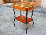 Antico Tavolino Napoleone III intarsiato - XIX secolo-14