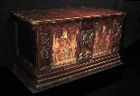 Gothic wedding case, France, early 15th century-3