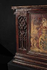 Gothic wedding case, France, early 15th century-4