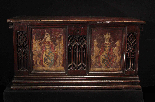 Gothic wedding case, France, early 15th century-1