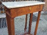 Antique small Empire Console in mahogany - 19 th century-7