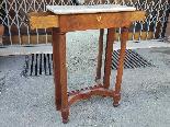Antique small Empire Console in mahogany - 19 th century-2