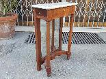 Antique small Empire Console in mahogany - 19 th century-4