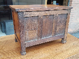 Antique miniature Commode Chest of drawers walnut Italy 19th-9