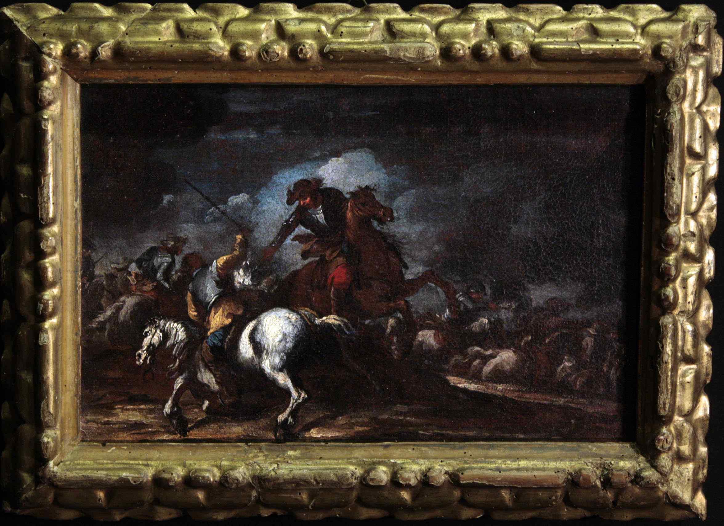Giuseppe Zais (1709 - 1774) - Scène de bataille