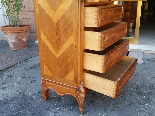Antique Chest of drawers Cabinet in walnut - 19th-16