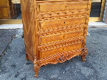 Antique Chest of drawers Cabinet in walnut - 19th-14