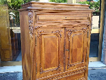 Antique Chest of drawers Cabinet in walnut - 19th-8