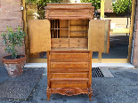 Antique Chest of drawers Cabinet in walnut - 19th-1