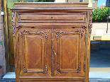 Antique Chest of drawers Cabinet in walnut - 19th-12