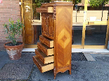 Antique Chest of drawers Cabinet in walnut - 19th-5