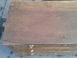 Antique Commode Chest of drawers in walnut - Italy 18th cent-13
