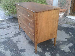 Antique Commode Chest of drawers in walnut - Italy 18th cent-2