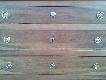 Antique Commode Chest of drawers in walnut - Italy 18th cent-6