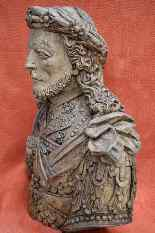 Bust of Carved Man, Tyrol, XVII.-8