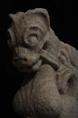 Coppia Cariatidi in marmo sec. XV-4