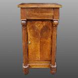 Ancien Table de Chevet Empire en noyer - 19ème siècle-16