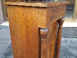 Ancien Table de Chevet Empire en noyer - 19ème siècle-9