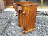 Ancien Table de Chevet Empire en noyer - 19ème siècle-6