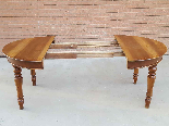 Antique Louis Philippe extending Table in walnut -Italy 19th-2
