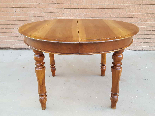 Antique Louis Philippe extending Table in walnut -Italy 19th-13