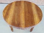 Ancien Table extensible Louis Philippe en noyer-Italie 19ème-11