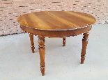 Antique Louis Philippe extending Table in walnut -Italy 19th-3