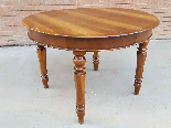 Antique Louis Philippe extending Table in walnut -Italy 19th-5