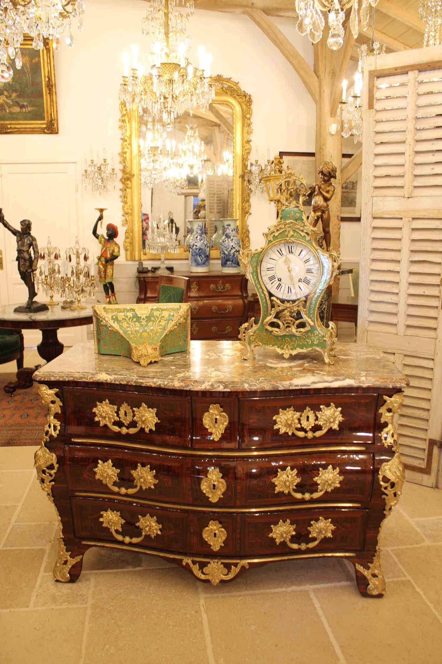 Луи XV стульчак штамп FF