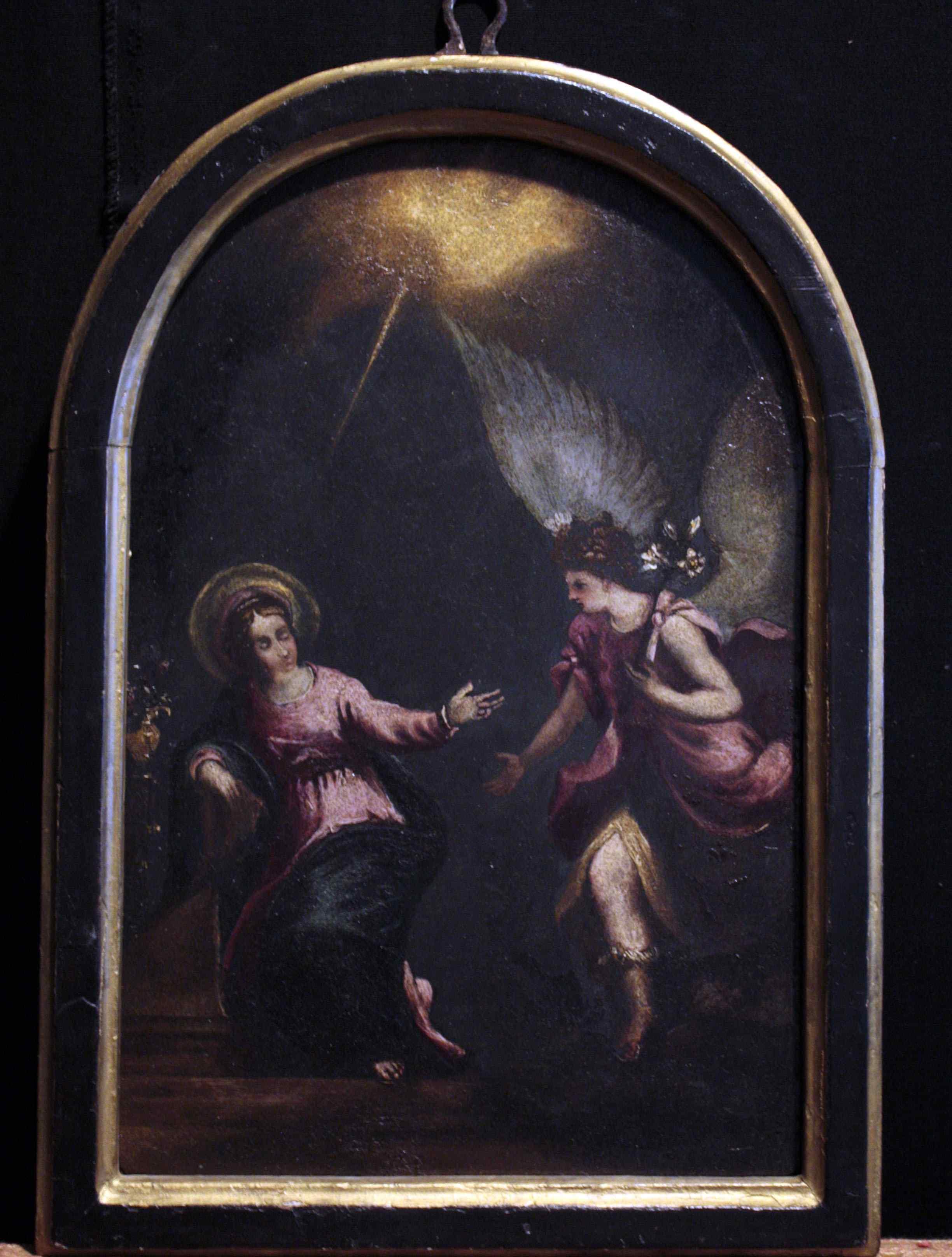 Peinture Annonciation, Sec. XVI