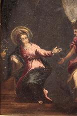 Peinture Annonciation, Sec. XVI-2