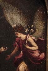Peinture Annonciation, Sec. XVI-1